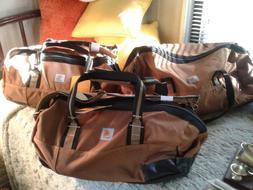 3 Piece CARHARTT Luggage Set Tool Duffel Bags Gym Bag  Tool