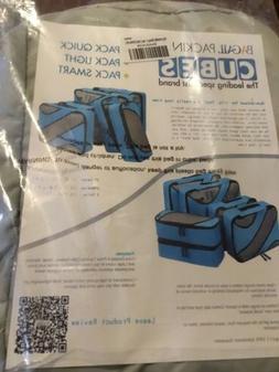 Bagail 6 Set Packing Cubes 3 Various Sizes Travel Luggage Pa
