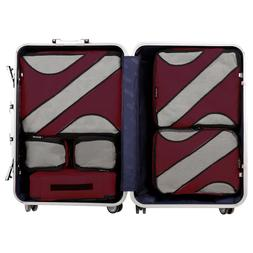 BAGAIL 6 Set Packing Cubes Multi-Functional Luggage Packing