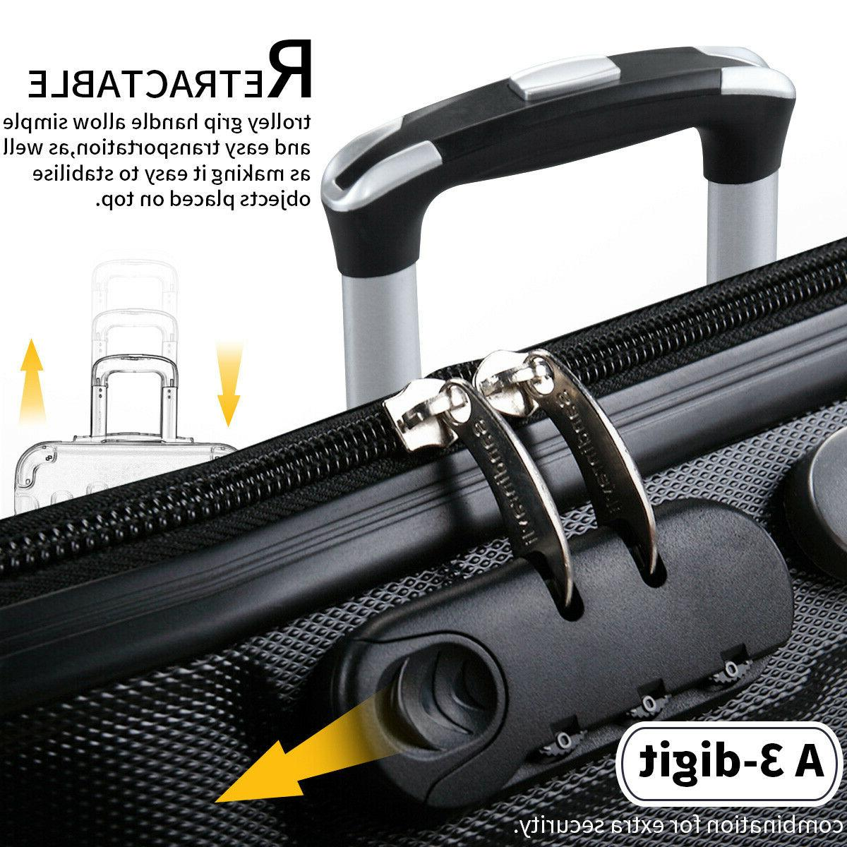 """3 Travel Bag Carry on Trolley 30"""""""