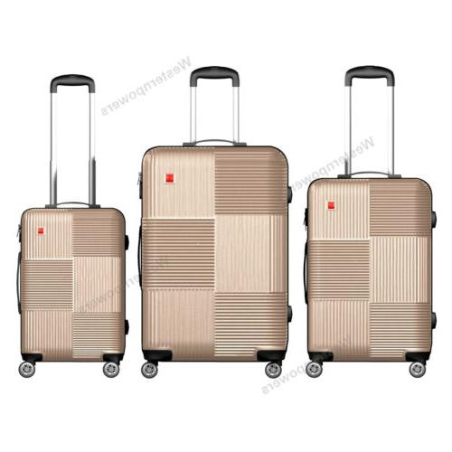 3-Piece Set with Spinner Wheels 20'' 24'' 28''