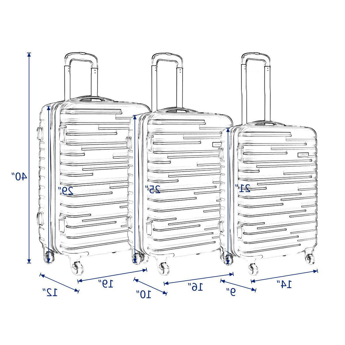 3 Travel Nested Spinner w/ Cover