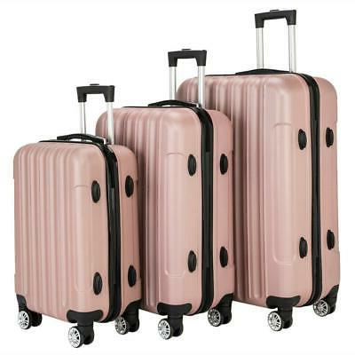 3PCS Set Bag ABS Suitcase