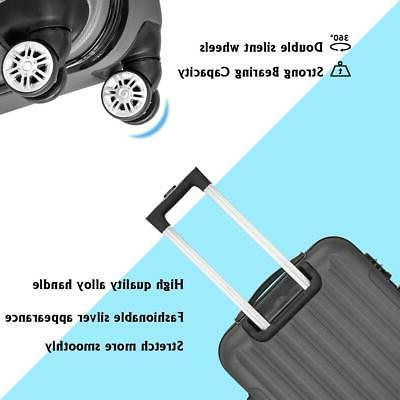 Hardside Spinner Suitcase Set Lock