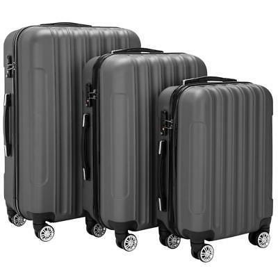 Hardside Piece Spinner Suitcase Luggage Set w/ TSA