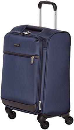 AmazonBasics Softside Spinner Luggage, 18-inch Carry-on/Cabi