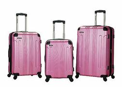 Rockland® 3-pc. Sonic ABS Upright Luggage Set