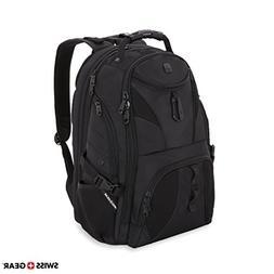 SWISSGEAR Travel Gear 1900 Scansmart TSA Laptop Backpack Bla